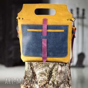 Prezent Torebka skórzana ręcznie robiona NavahoClothing, torba-skórzana