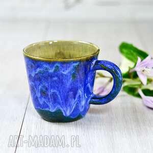 handmade espresso kubek ceramiczny do kawy i herbaty indygo 320 ml / 11 oz