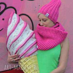 ręcznie zrobione szaliki