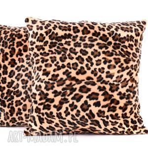 poduszki poduszka gepard szybkobiegi 40x40cm od majunto, welurowa