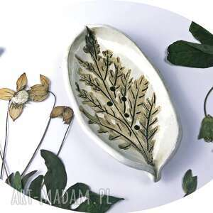 "Mydelniczka ""wiecheć"" ceramika ceramystiq studio handmade"