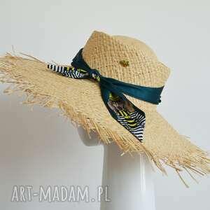 kapelusz luis, kapelusz, słoma, wstążka, letni dodatki