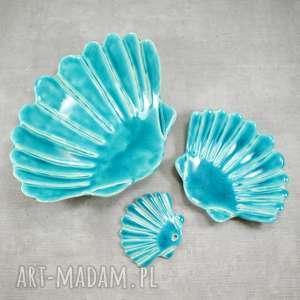 ręczne wykonanie ceramika zestaw łazienkowy muszla