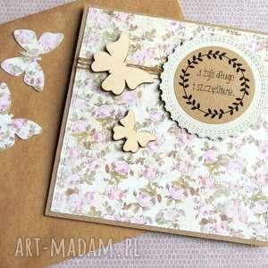 kartka ślubna :: motyle, ślub,