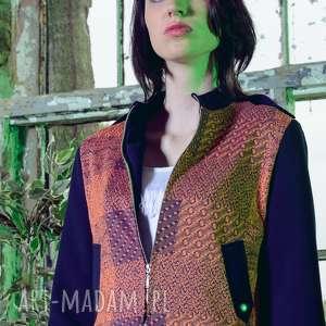 ręcznie wykonane kurtki kurtka ramoneska chogorii orenji
