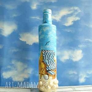 butelka z kolekcji eine wunderbare sommerferien magisches - marinistyczny