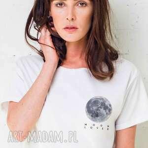 handmade koszulki moon lover t -shirt oversize