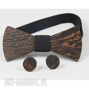 ZESTAW #20, mucha, drewno, wenge