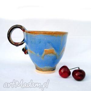 lawowany ii - ceramiczny kubek, naczynie, ceramika, użytkowe, unikatowe