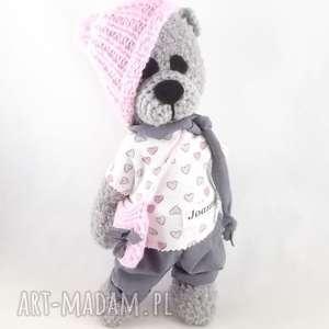 dla dziecka joanna - wykonana na zamówienie pani joanny p, miś, maskotka
