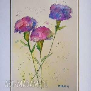 kwiatyiii - akwarela