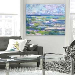 morze obraz olejny, ręcznie malowany, na płótnie, nowoczesny