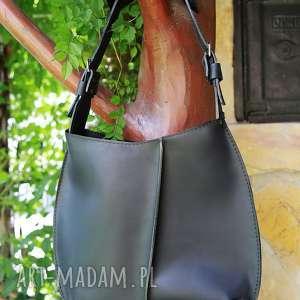 torba torebka ręcznie robiona skórzana, skórzana, torba, torebki