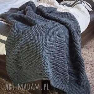 pled w ramie 170x180 cm - zamówienie indywidualne, pled, gruby ciepły koc
