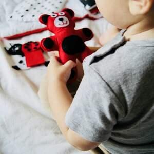 Książeczka sensoryczna 0 , książeczka, quietbook, sensoryczna, niemowlę