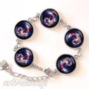 nebula - bransoletka, szklana, prezent, galaxy, kosmos