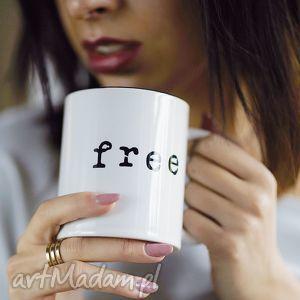 kubki free duży biały kubek 330 ml, wolny, kubek, hebata, sniadanie, kuchnia, mug