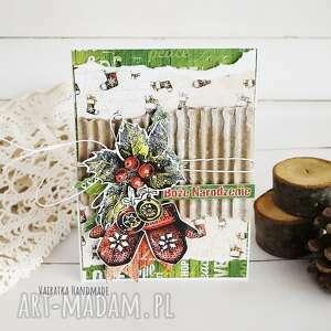 kartka świąteczna 517 vairatka handmade - boże narodzenie