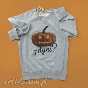 halloween z dyni bluza unisex, oversize, halloween, pumkin