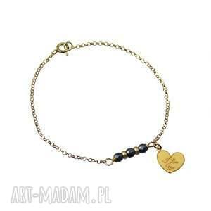poplavsky bransoletka i love you srebro 925 - bransoletka, serce, walentynki, srebro, love