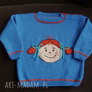 ręczne wykonanie ubranka sweterek tola