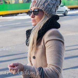 business instinct wielbłąd - jesień, zima, czapka, włóczka, handmade