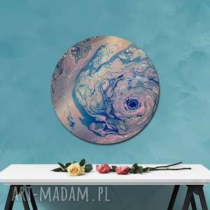 planeta 12, kosmos, natura, księżyc, planeta, ziemia, okrągły obraz