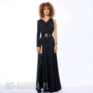 sukienki suknia bella black magic, suknia, wieczorowa, elegancka