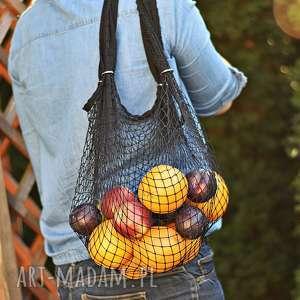 siatka na zakupy torba paryżanka net bag oldschool prl
