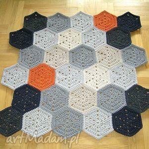 ręcznie zrobione dywany dywan polygonal dla p. marzeny