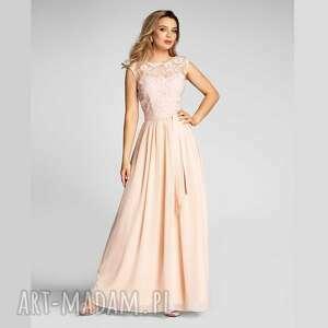 sukienki sukienka dina maxi kamelia róż