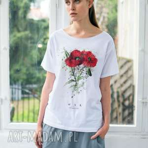 handmade koszulki mak oversize t-shirt