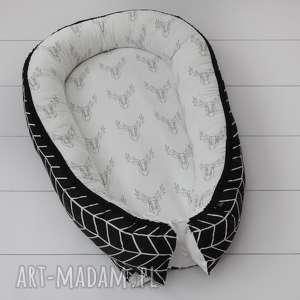 Kokon, gniazdko niemowlęce Scandi Deer, babynest, jeleń,