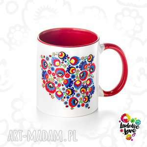 kubek z grafiką polska, prezent, kolorowe, ludowe, wzory, polskie, folklor