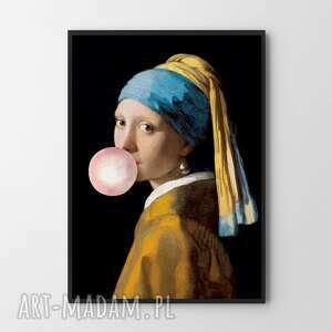 plakat obraz portret z gumą 50x70 cm b2, plakat, obraz, dekoracje