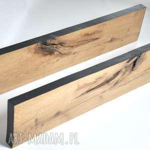 Plafon/kinkiet dębowy LED, debowy, drewniany, ledowy, scienny