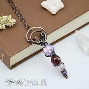 Amulet - naszyjnik z wisiorem, naszyjnik-boho, naszyjnik-z-wisiorem