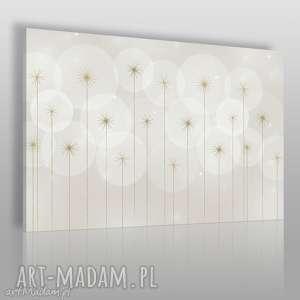 obrazy obraz na płótnie - kwiaty abstrakcja 120x80 cm 66001, kwiaty