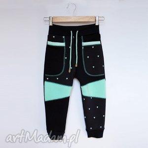 ONLY ONE No 003 - spodnie dziecięce 116 cm, dres, eco, recykling, bawełna, wygodne
