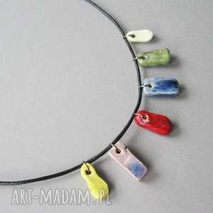 naszyjnik lekkość dnia - naszyjnik, delikatny, kobiecy, biżuteria, oryginalny