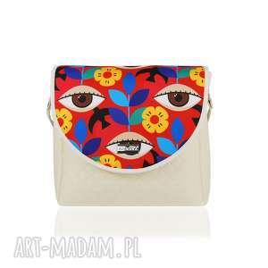 handmade na ramię torebka puro classic 2611 mexican eyes