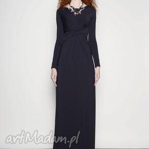 suknia cristina maxi black, wieczór, suknia, długa