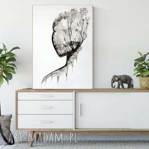 plakaty grafika 50x70 cm wykonana ręcznie, plakat, abstrakcja, elegancki