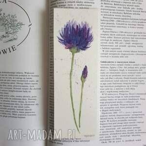 ręcznie zrobione zakładki zakładka do ksiażki-kwiatek
