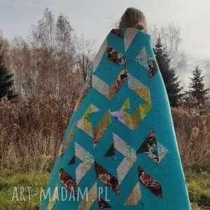 patchwork - do okrycia, na kanapę, ścianę, boho, narzuta, koc, ozdoba