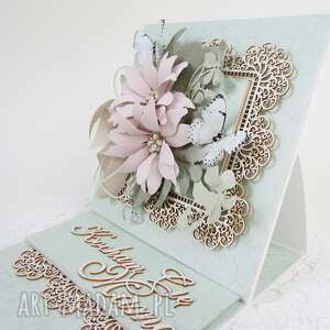 Kocham cię mamo - w pudełku scrapbooking kartki marbella mama