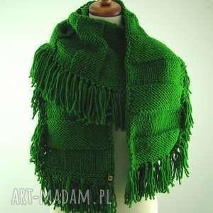 handmade szaliki kolory do wyboru - szal z frędzlami