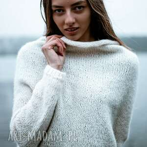 hand made swetry sweter unno ecru