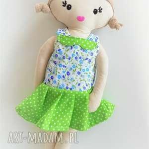 Prezent Mała lala - włosy blond, lala, lalka, szmacianka, dziewczynka,