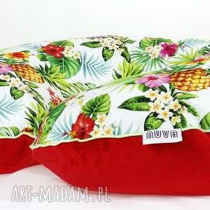poszewka na poduszkę rogal boppy tropical - poduszka, poszewka, rogal, boppy